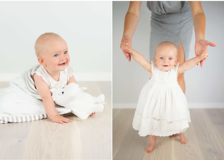 Barn och familj fotografering hemma hos babyfoto