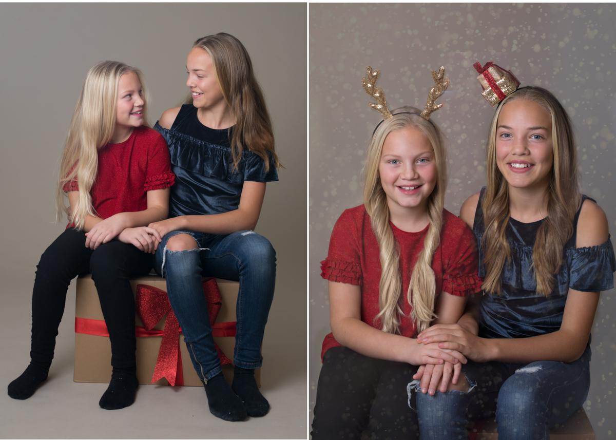 Julkortsfotografering I Stockholm hos BLICKA studio fotostudio vid Täby Centrum