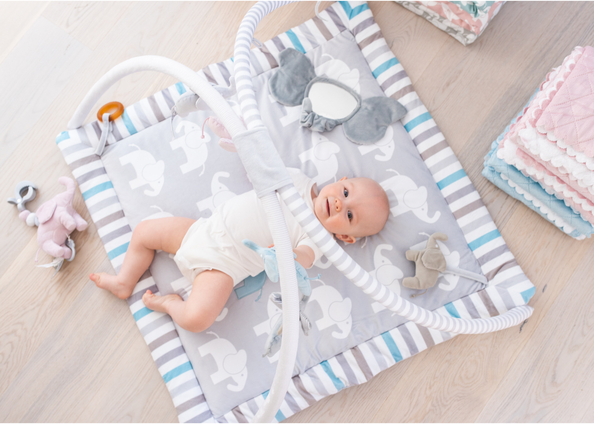 Produktfoto med baby